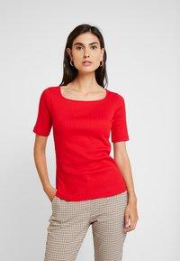 Anna Field - TSHIRT BASIC - Long sleeved top - goji berry - 0