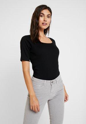 TSHIRT BASIC - T-shirt à manches longues - black