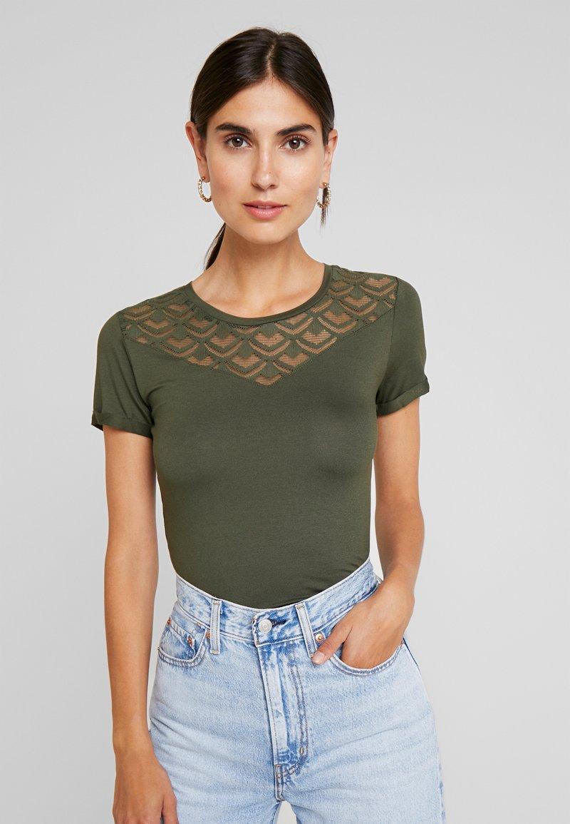 Anna Field - T-shirt con stampa - deep depths