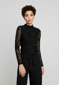 Anna Field - Long sleeved top - black - 0