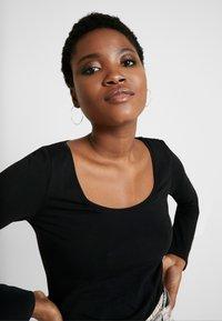Anna Field - 2 PACK - Longsleeve - black/black - 4