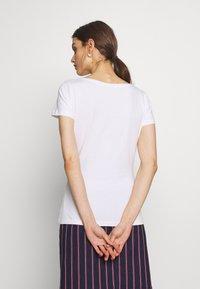 Anna Field - 3 PACK - T-shirt basic - white/navy/light grey melange - 4