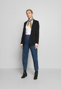 Anna Field - 2 PACK - Långärmad tröja - maritime blue/white - 1