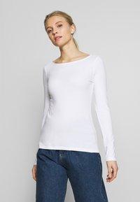 Anna Field - 2 PACK - Långärmad tröja - maritime blue/white - 2