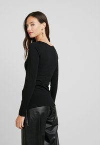 Anna Field - 2 PACK - Long sleeved top - black/white - 3