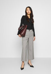 Anna Field - 2 PACK - Long sleeved top - black - 1