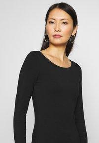 Anna Field - 2 PACK - Long sleeved top - black - 4
