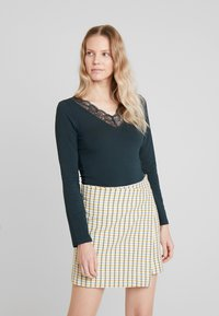 Anna Field - Long sleeved top - scarab - 0