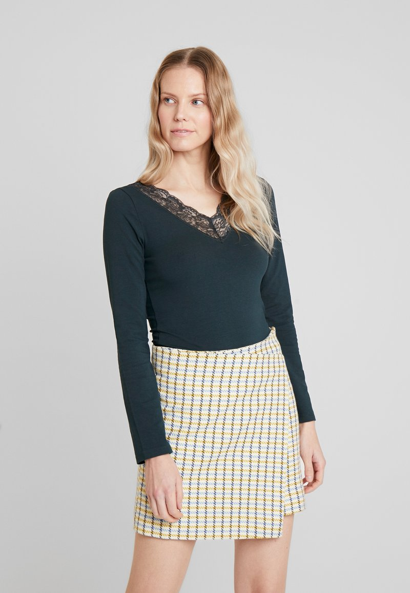 Anna Field - Long sleeved top - scarab
