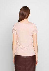 Anna Field - 2 PACK - T-Shirt basic - rose/anthracite - 3
