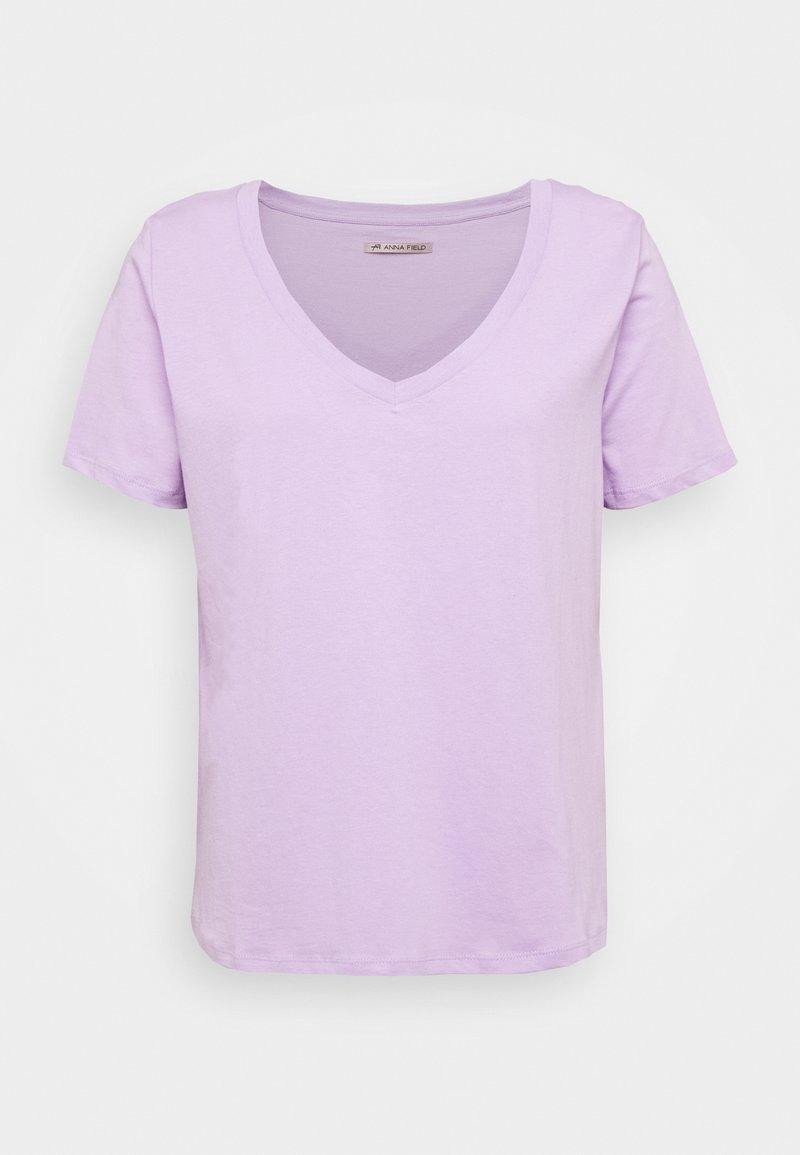 Anna Field - T-shirt basic - lavendula