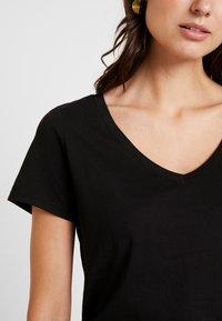 Anna Field - T-shirt basic - black - 4
