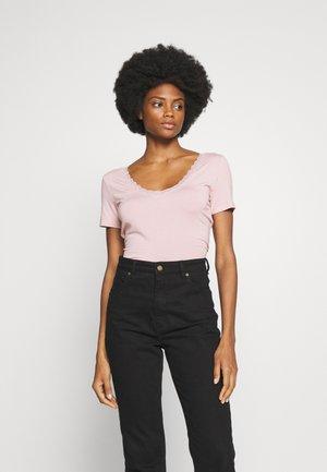 T-shirt basique - rose