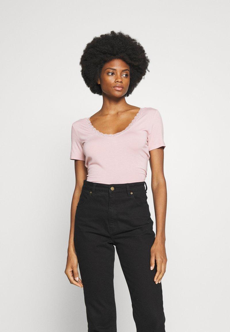 Anna Field - Jednoduché triko - rose