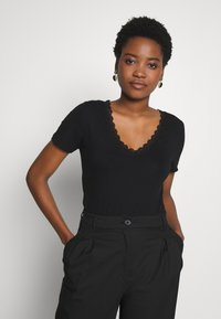 Anna Field - T-shirt - bas - black - 0