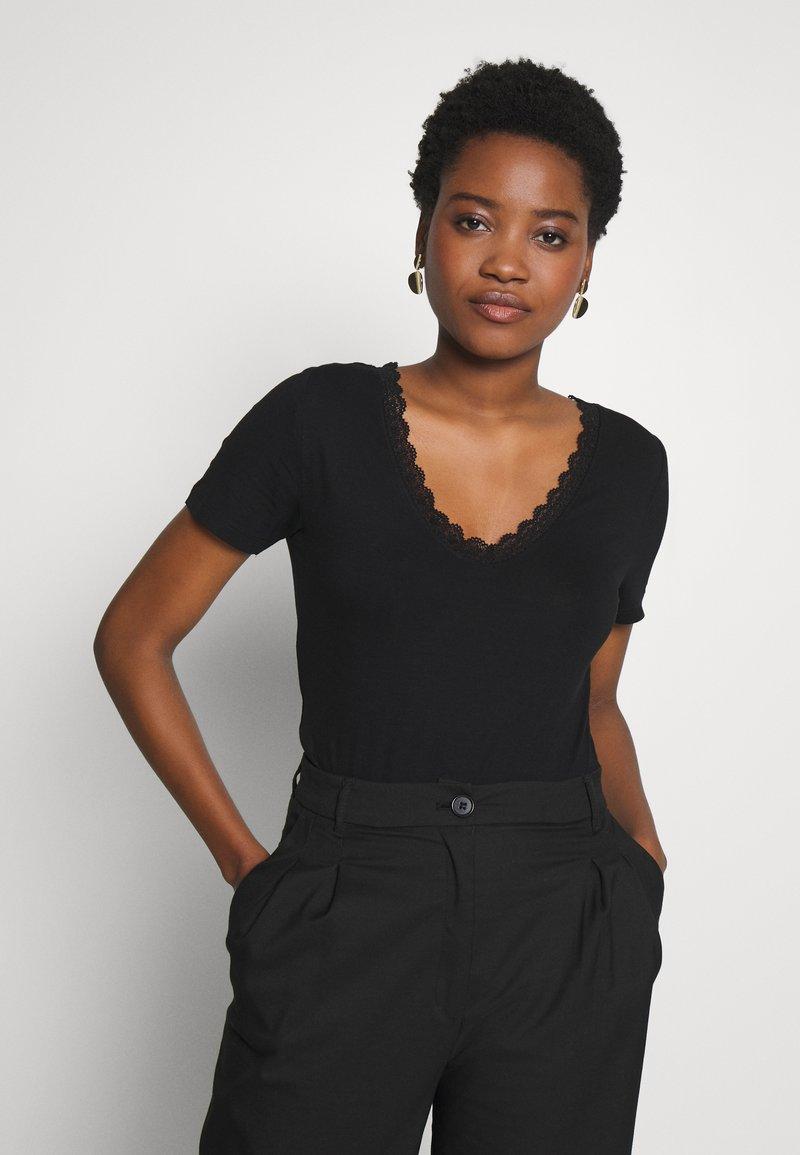Anna Field - T-shirt - bas - black