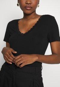 Anna Field - T-shirt - bas - black - 4