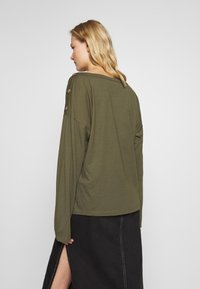 Anna Field - DROP SHOULDER LONG SLEEVES - Top s dlouhým rukávem - olive night - 2