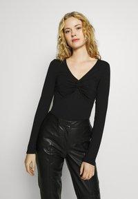 Anna Field - T-shirt à manches longues - black - 0