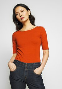 Anna Field - T-shirt basic - potters clay - 0