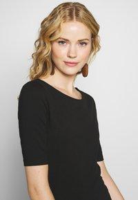 Anna Field - T-shirts - black - 4