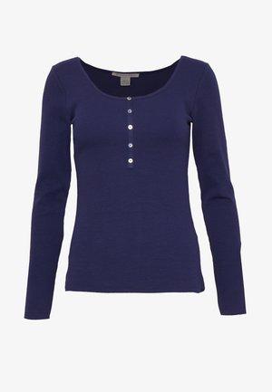 Long sleeved top - maritime blue