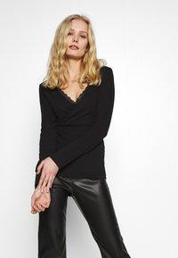 Anna Field - Long sleeved top - black - 0