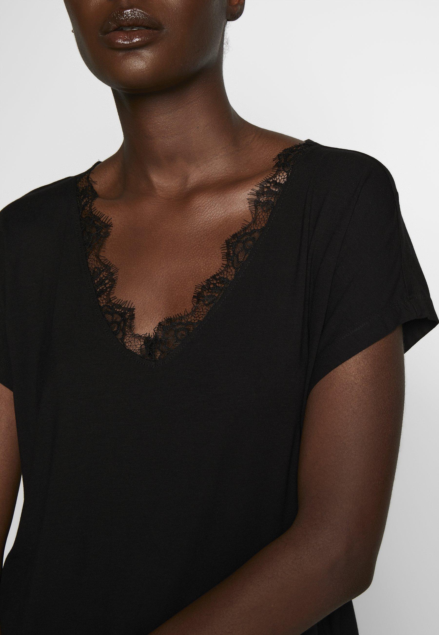 Anna Field T-shirts - black