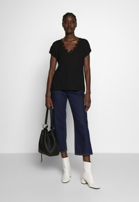 Anna Field - T-shirts - black - 1