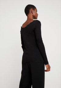 Anna Field - T-shirt à manches longues - black - 2