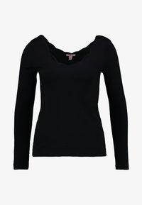 Anna Field - T-shirt à manches longues - black - 4