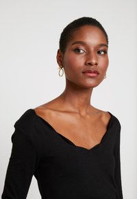 Anna Field - T-shirt à manches longues - black - 3