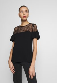 Anna Field - T-shirts med print - black - 0
