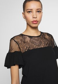 Anna Field - T-shirts med print - black - 4