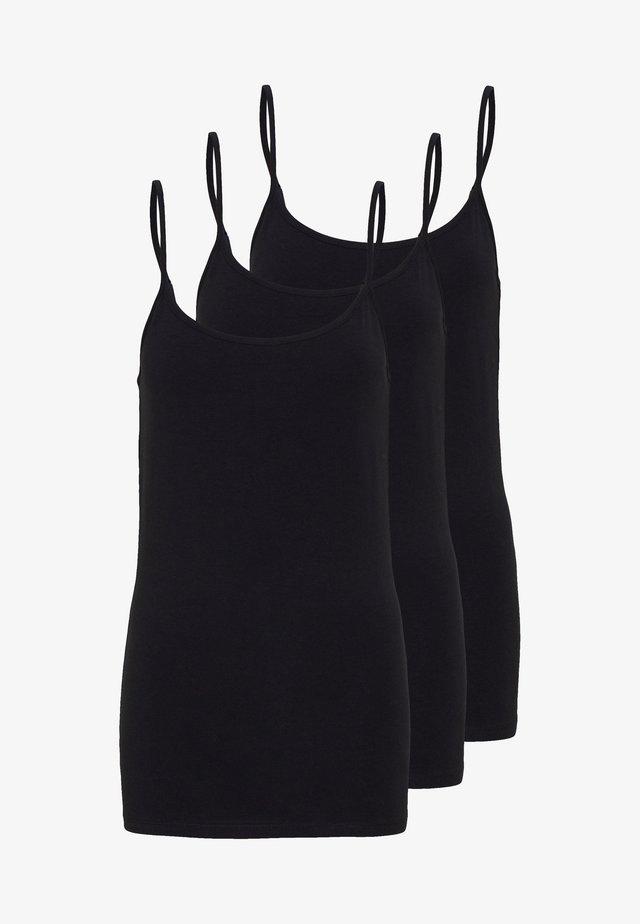 3 PACK - Toppi - black/black/black