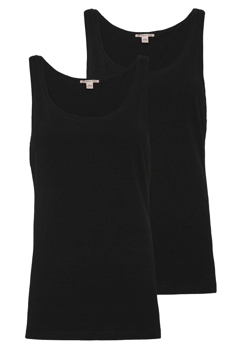 Anna Field - 2 PACK - Top - black