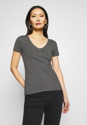3ER PACK - Camiseta básica - black, white