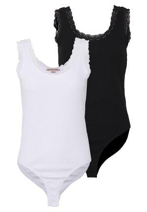 2 PACK - Linne - black/white
