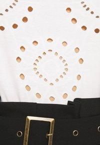 Anna Field - T-shirt imprimé - white - 5