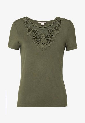 T-shirts print - olive night