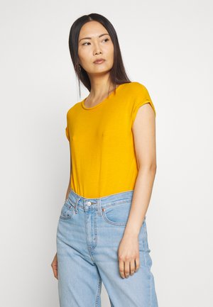 Basic T-shirt - golden yellow