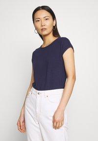 Anna Field - T-shirts - evening blue - 0