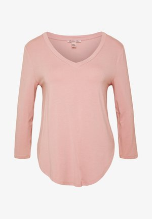 Long sleeved top - pale mauve