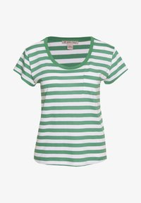 Anna Field - T-shirts med print - white/green - 0
