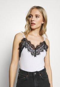 Anna Field - Top - white/black - 3