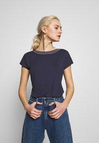 Anna Field - T-shirts - maritime blue - 3