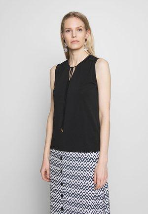 CREPE DRESSY - Top - black