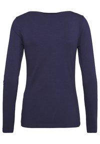 Anna Field - 2 PACK - T-shirt à manches longues - white/navy - 2