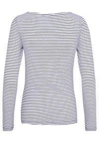 Anna Field - 2 PACK - T-shirt à manches longues - white/navy - 4