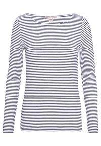 Anna Field - 2 PACK - T-shirt à manches longues - white/navy - 3